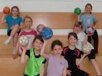 Unser Handball Mini Mannschaft
